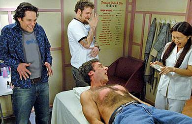 40 Year Old Virgin waxing scene