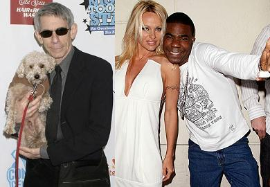 Richard Belzer and Tracy Morgan