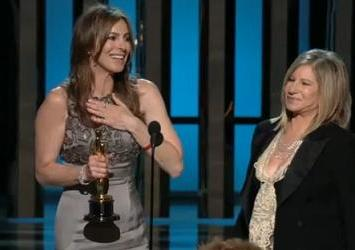 Kathryn Bigelow winning Best Director Oscar
