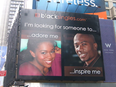 Black Singles billboard