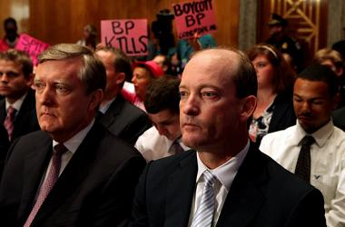Bigs from BP at a Senate hearing