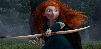 Merida in Pixar's Brave