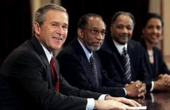 bush loves black people