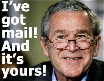 Bush has your mail