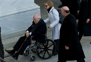 Dick Cheney at inauguration