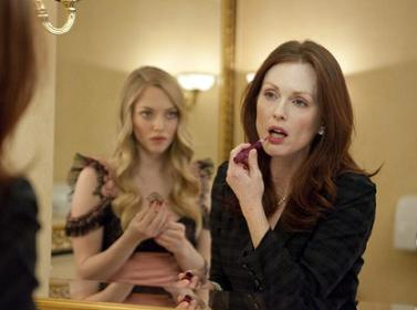Chloe, Amanda Seyfried and Julianne Moore