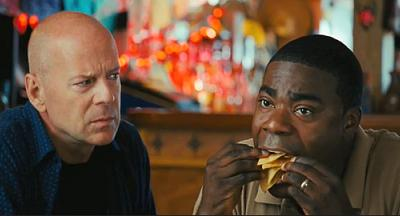 Cop Out, Bruce Willis and Tracy Morgan
