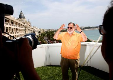 Francis Ford Coppola at Cannes for Tetro