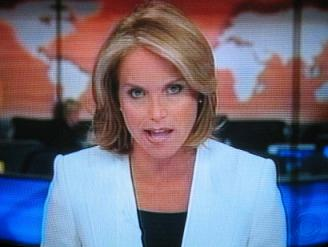 Katie Couric on CBS Evening News