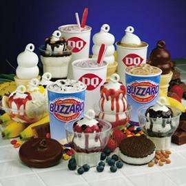 Dairy Queen Blizzards