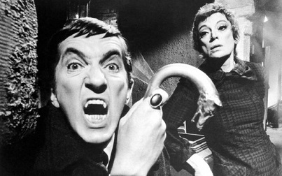 Jonathan Frid and Grayson Hall on Dark Shadows