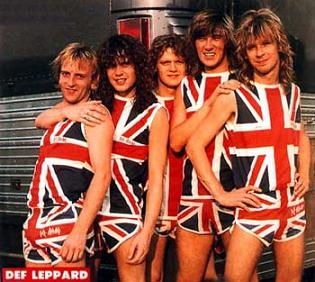 Def Leppard from back in the day