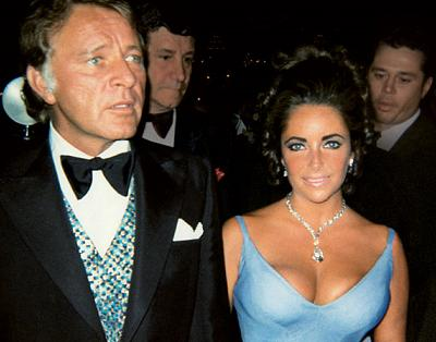 Richard Burton and Liz Taylor in 1970