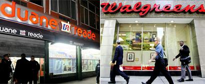 Duane Reade and Walgreens