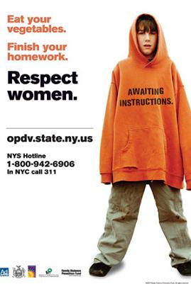 NY's anti-domestic violence campaign ad