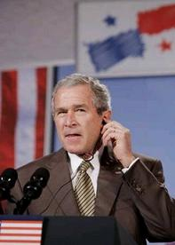 Bush says we don't torture