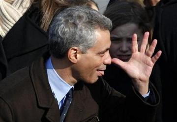 Rahm Emanuel at Inauguration
