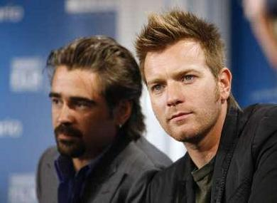 Ewan McGregor and Colin Farrell