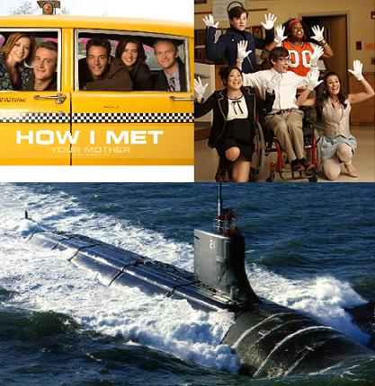 How I Met Your Mother and Glee on a Submarine
