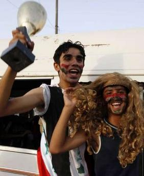 Iraqi football fans