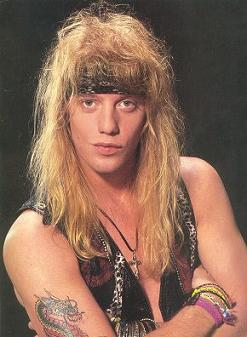 Jani Lane from Warrant