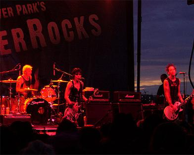 Joan Jett at River Rocks