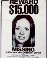 Kathleen Durst's missing person poster