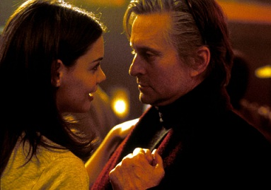 Katie Holmes and Michael Douglas in Wonder Boys