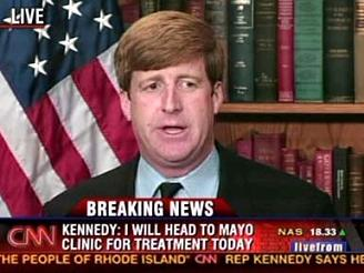 Patrick Kennedy after car crash