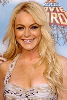 Linday Lohan blonde