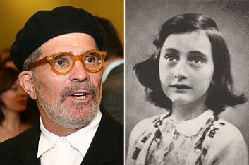 David Mamet and Anne Frank