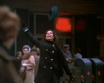 Mary Tyler Moore opening sequence hat throw