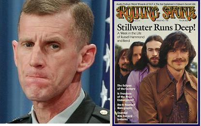 General McChrystal looking sad