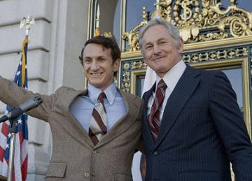 Sean Penn and Victor Garber in Milk