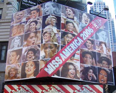 Miss America billboard