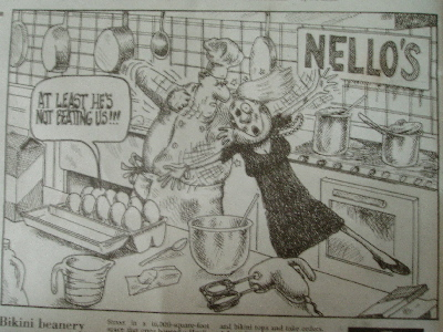 Tasteful new york post cartoon