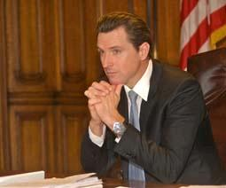 Gavin Newsom repents