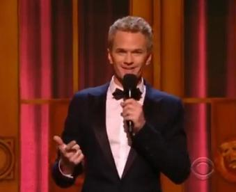 Neil Patrick Harris hosting the 2011 Tonys