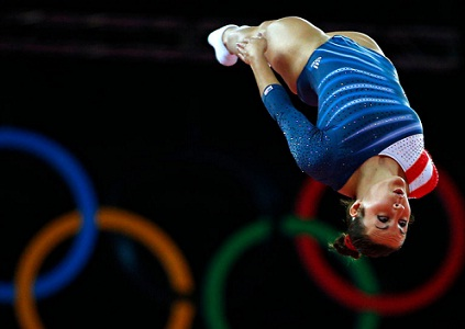 Women's trampoline gymnastics, London Olympics