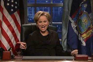 Amy Poehler as Hillary Clinton on SNL