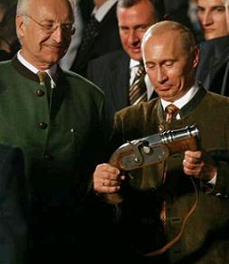 Putin gets his gun