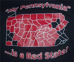 Pennsylvania, not a red state anymore