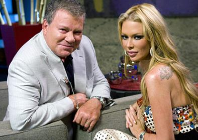 William Shatner and Jenna Jameson