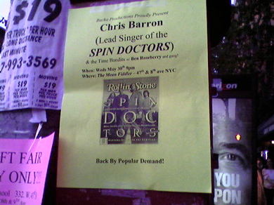 Chris Barron flyer