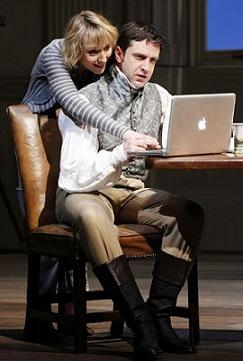 Tom Stoppard's Arcadia, Raul Esparza and Lia Williams