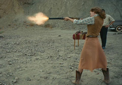 Girl With Gun shot from The Master trailer