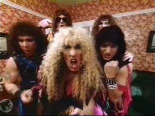 Twisted Sister video shot