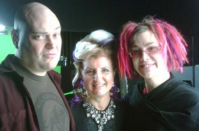 Wachowskis and Arianna Huffington