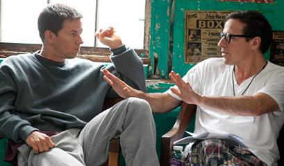 Mark Wahlberg and David O. Russell talk about The Fighter