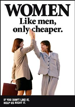 Women pay gap